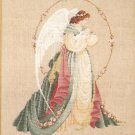**Lavender & Lace Cross Stitch KIT Gardian Angel
