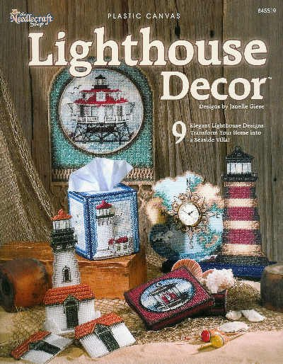 ** 9 * Lighthouse Decor in Plastic Canvas Patterns *