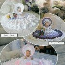 **CROCHET * 6 * Annie Potter BED DOLL Patterns