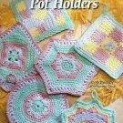 **Crochet Annie's Attic * 6 * Gorgeous Pastel POTHOLDER Patterns