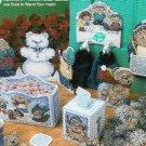 ** 9 * Adorable SNOW KIDS Plastic Canvas Patterns
