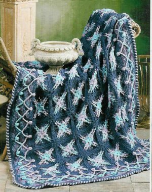Afghan Crochet Pattern Variegated Crochet Patterns