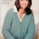 **Crochet * 9 * Annie's Attic FABULOUS SWEATER Patterns