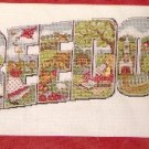 **Counted Cross Stitch KIT FREEDOM Collage JOAN ELLIOTT