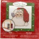 **Christmas Stitch & Mail Cross Stitch KIT Santa Claus 2006