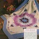 **Crochet STAR AFGHAN Pattern Sweaters Plus