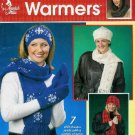Winter Warmers Knit Booklet - Annie's Attic -Caps Scarfs COWL HOOD Patterns
