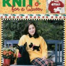 """**Knit for A QUEEN -* 5 * Sweaters for Machine and Handknitting Sizes 30"""" - 52"""""""
