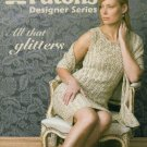 **Knit Sweaters All That GLITTERS Sizes E-Small to 2 X-Large - PATONS -