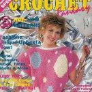 **Crochet Fantasy BABY Sweater MOM Sweater Frilly Doily
