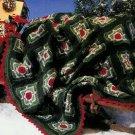 **Crochet Granny STARS Afghan Pattern Ornaments TREE Skirt +