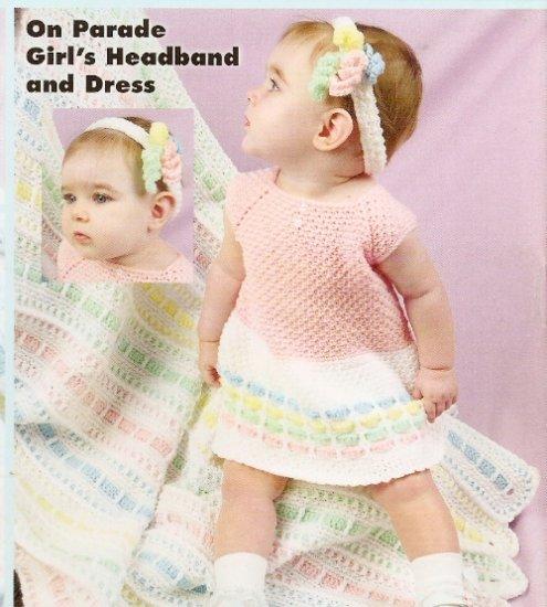 Crochet Rainbow Wear for Baby - Baby Dress