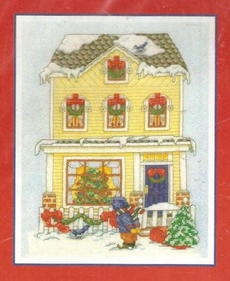 **Cross Stitch Pattern BOBBIE G. DESIGNS HOME FOR CHRISTMAS