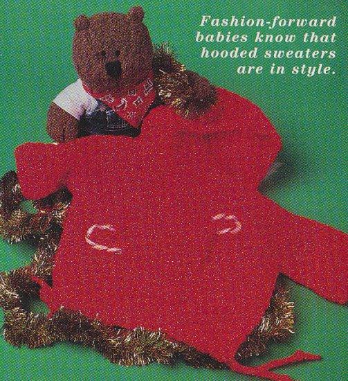 **Crochet Hoody BABY Sweater  * 5 * Afghan Patterns PLUS