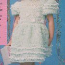 Crochet LACY Party Dresses BABY ROMPER Afghan Sweater Patterns