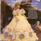 Fashion Doll Crochet LADIES OF FASHION 1997 DEBORAH