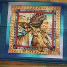 """1/2 yard ~ SouthWest Indian Design Fabric for 18"""" Pillow Form Front and Back"""