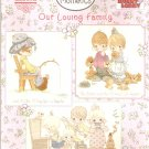**OUR LOVING FAMILY 13 Cross Stitch Patterns By Gloria and Pat