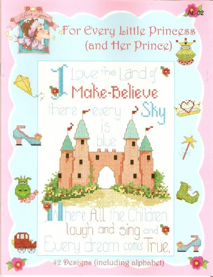 **13 Cross Stitch Patterns FOR EVERY LITTLE PRINCESS AND HER PRINCE