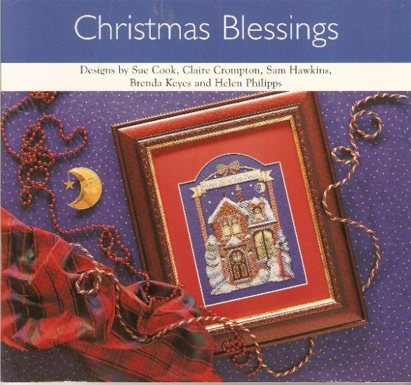 Christmas Collection 6 Cross Stitch GAELIC BLESSING