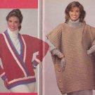 Crochet Fashionable CoCoon Jacket Elegant Poncho Patterns +