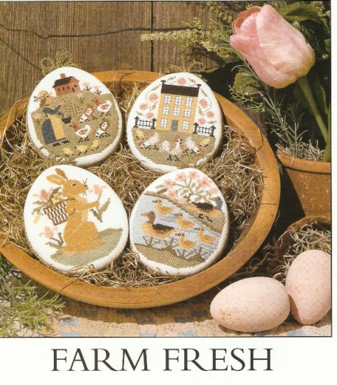 Prairie Schooler Cross Stitch  FARM FRESH  Number 108   2003