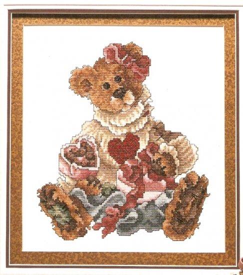 Boyds Bears Cross Stitch  BAILEY - HEARTS DESIRE  2000
