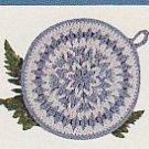 Crochet Snowflake Bunting CHRISTMAS Afghan Xmas Tree Sweater