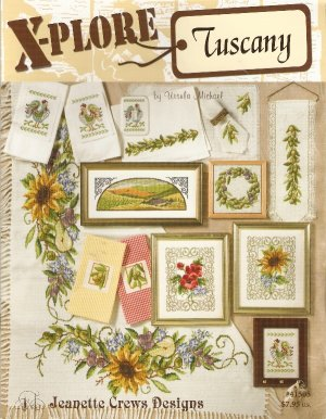 *10 Cross Stitch Patterns  Explore Tuscany Ursula Michael