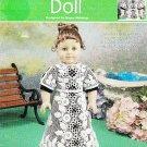 *Annie's Attic IRISH Crochet Doll Pattern FREE Form Irish Method
