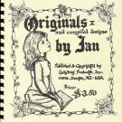 Originals and Compiled Designs by Jan Ladybugs Vintag 1976