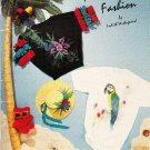 Painting FASHIONS - Flashin' Fashion by Judith Westegaard