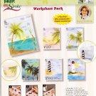Donna Dewberry 6 Pattern Value Worksheet Pack One Stroke