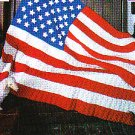 Crochet * 5 * Red White & Blue Afghans AMERICAN FLAG