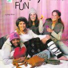 KNIT CHUNKY FUNKY Fun Items Hats Pillow Scarf Purse