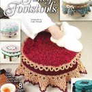 Crochet Annie's Attic Fancy Footstools or any Round Design