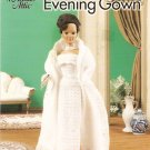 CROCHET Annie's Attic  1960's EVENING GOWN