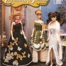 CROCHET Annie's Attic  Fashion Doll  EVENING GOWNS