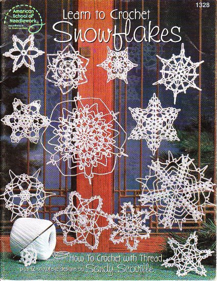 Learn to Crochet SNOWFLAKES - 12 Beautiful Designs