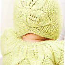 *Knit Lace and Leaves for BABY  * 8 * Patterns