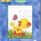 *Cross Stitch KIT  Suzy's Zoo   Happy One   Happy Day