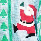 *Crochet * 4 * Annie's Attic Christmas Afghans HTF Santa Poinsettia