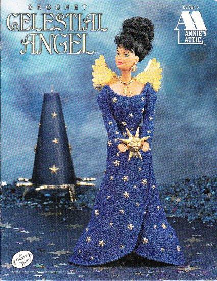 *CROCHET Annie's Attic  CELESTIAL ANGEL 1997