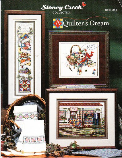 *8 Cross Stitch Patterns Stoney Creek QUILTER'S DREAM
