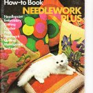 *How to Knit Crochet Needlepoint Embroidery Rugs Patchwork Plus