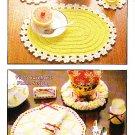 *Annie's Attic VINTAGE Crochet Table Treasures Patterns