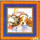 *Dog & Cat Cross Stitch  QUILTED HEAVEN
