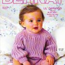 *Knit and Crochet - Bernat Lil' Darlings Girls/Boys Outfit