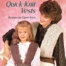 *Knit * 4 * Quick and Easy Vests for Mom and Daughter