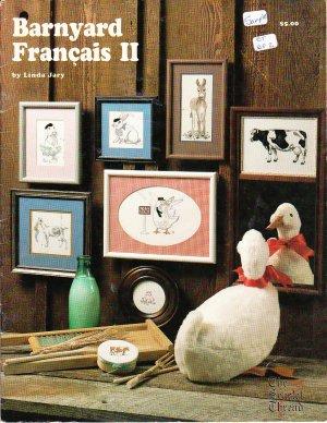 *The Scarlet Thread -BARNYARD FRANCAIS II Cross Stitch